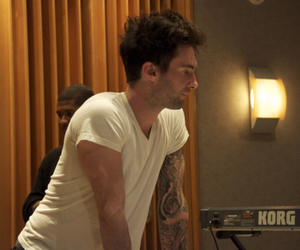 Hot, sexy, and maroon 5 image