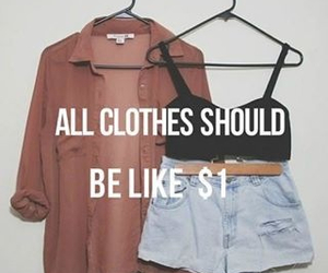 clothes, quote, and cheap image