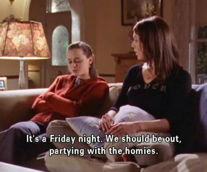 gilmore girls, funny, and party image