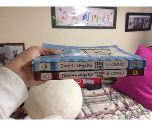 books, wimpykid, and diary image