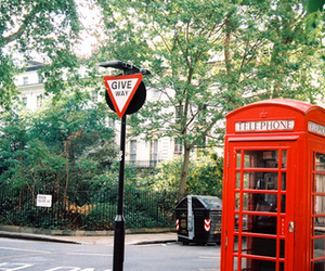 london, city, and telephone image