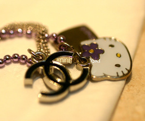 hello kitty and chanel image