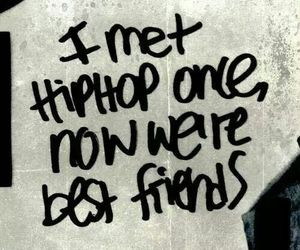 best friends, hip hop, and music image