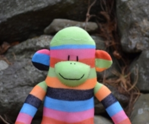 Sock Monkey, sockmonkey, and sock monkey doll image