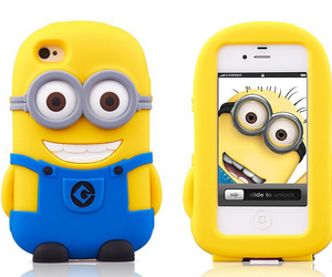 cute, minions, and yellow image