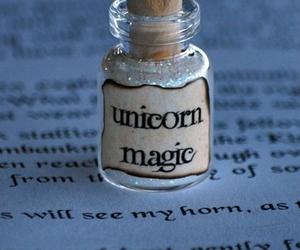 unicorn, magic, and book image