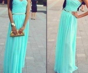 robe turquoise image