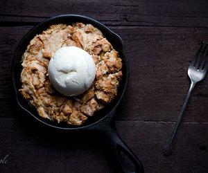 apple, Cinnamon, and cobbler image