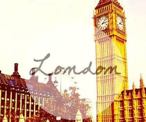 london, Big Ben, and britain image