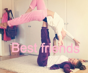 best friends, forever, and gymnastics image