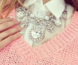 fashion, sweater, and nails image