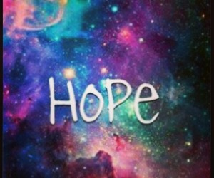 hope, love, and universe image