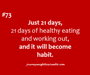 workout and quote image