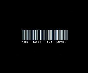 b&w, consumerism, and label image