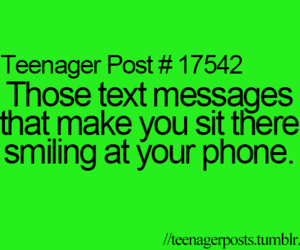 smile, text, and messages image