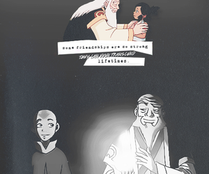 avatar, aang, and iroh image