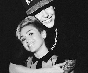jiley, justin bieber, and miley cyrus image