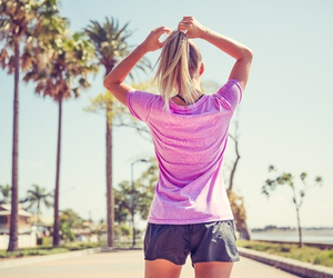 girl, fitness, and summer image