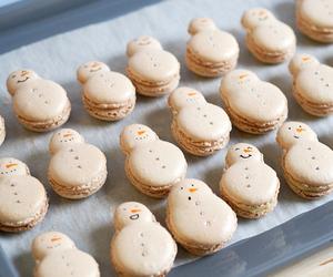 snowman, christmas, and food image