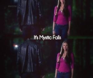 bad, mystic falls, and @vampireduk image