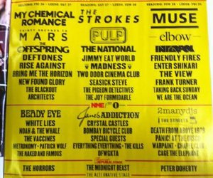 30 seconds to mars, bring me the horizon, and Leeds image