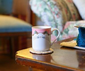 cat, indie, and mug image
