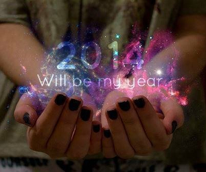 2014, year, and new year image