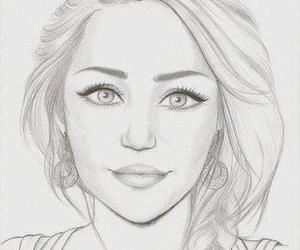 miley cyrus, drawing, and miley image
