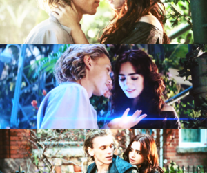 the mortal instruments, clary, and jace image