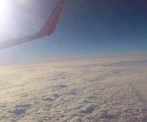 airplane, flugzeug, and holiday image