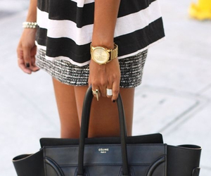 bag, black, and love it image