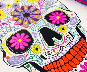 cool, colorful, and death image