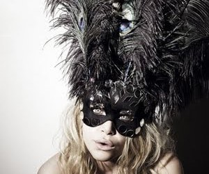 mask, olsen, and feather image