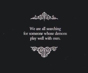 demon, quotes, and play image