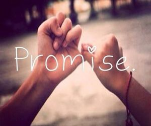 promise, friends, and boy image