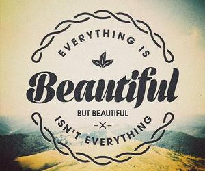 beautiful, quote, and everything image