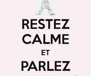 french, france, and keep calm image