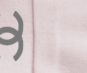 header, pink, and chanel image