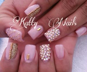 fashion, nail, and nail polish image