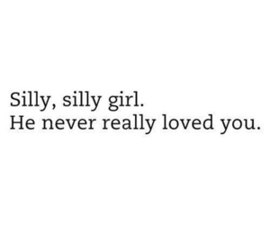 love, silly, and quote image