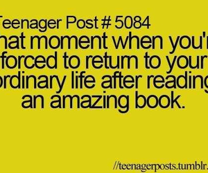 book, teenager post, and life image