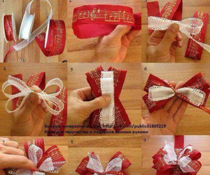 beige, bow, and creative ideas image