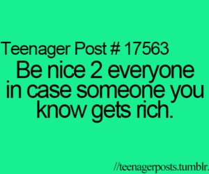 rich, teenager post, and funny image