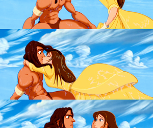tarzan, disney, and love image