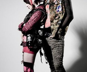 boots, leopard, and punk image