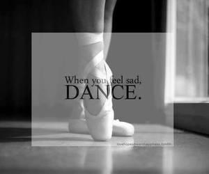 dance, sad, and life image