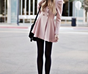 clothes, purse, and winter fashion image