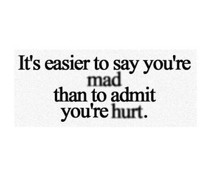 quote, hurt, and mad image