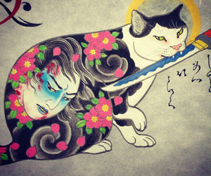 ink, tattoo, and lovecats image