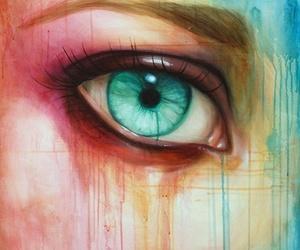 Bleu, eyes, and orange image